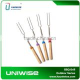 Set Of 8pcs Telescopic Marshmallow Roasting Sticks With 8 Different Colors