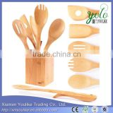Wooden 6 Piece Set Bamboo Cooking Utensils                                                                         Quality Choice