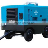 530 CFM 13 Bar Diesel Portable Screw Air Compressor for Sand Blasting / Mining /Jack Hammer
