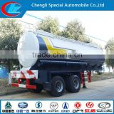 Ethylene truck trailer 2 axle truck trailer 25 ton truck trailer chemical liquid tank truck