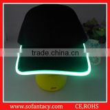 Logo Printed Sports Led Baseball Cap/Led Flashing Baseball Cap/Led Light Baseball Cap For Party
