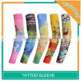 Fake Arm Polyester Spandex Compression Baby Tattoo Sleeves