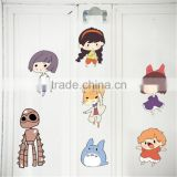 Japanese Cartoon Characters Removable Vinyl Wall Stickers For Kids Room Art Mural Decal Decor Baby Child Home Decoration MJ8008