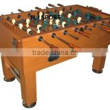 Solid color MDF babyfoot game table indoor soccer table football table for sale