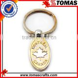 Most Welcomed Top Quality Logo Printed Metal Coin Holder Keychain,custom shape metal keychain,souvenir metal keychain