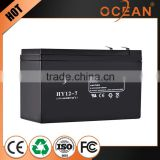 High page yield 12V 7ah cheap wholesale deep cycle battery price