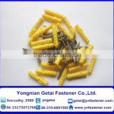 Plastic nylon anchor Plastic Wall Anchor Plastic Anchor bolt