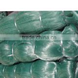 China 100% Nylon monofilament fishing net&polyamides&double knot&different colour