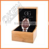 Bamboo Boxes&Cases Material Luxury Bamboo Watch Box