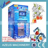 China most popular bag ice vending machine with ic card/coin/bill/give change
