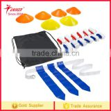 10 players flag football deluxe set