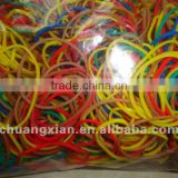 diameter 60mm of mix colour natural elastic hair band