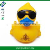4cm High quality New small duck Squeaky Bath Tub Toy Baby Infant Rubber Bathing Cute Race Yellow duck