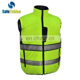 2017 high quality reflective fluorescent standard china safety vest