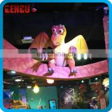 Indoor Playground High Simulation Cute Cartoon Dinosaur Model