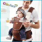 Baby Sling Backpack Cotton Baby Carrier Ring Shoulder Hip Seat Infant Kangaroo With Front Carry Comfort Sling Wrap