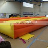 Inflatable gym track