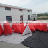 Shooting target military inflatable paintball bunkers inflatable shutter