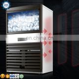 Popular Profession  Tea shop large capacity block ice cube maker machine industrial ice cube machine