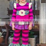Hot sale kids wear high quality remake halloween outfits girls boutique sets baby clothes