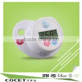 hot sale BPA Free pacifier digital thermometer,baby nipple digital thermometer with CE ROHS EMC