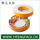 customized round macarons boxes wholesale
