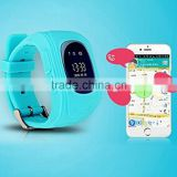 New Model kids GPS tracker smart watch Q50 with GSM SOS calling function smart watch phone 2016