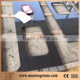 Chinese Impala Black Granite G654 Dark Grey Granite Countertop