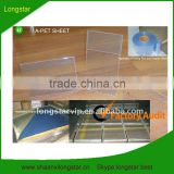 Clear Rigid PET Sheet (Used for Folding Boxes or Display Stand)