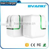 high quality 10W fast charging High speed US EU AU UK plug 2.1A LED light quick charge 2.0 travel charger usb wall charger
