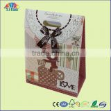 popular hand paper bag , gift paper bag , festival paper bag ,shopping paper bag