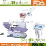 TR-N101 Dental Chair Packages - 16 Menmory Positions, LED light+Sensor on/off and Intensity Control Dental Operatory Packages