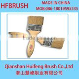 2' paint wooden handle brush