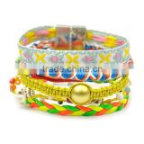 brazilian knitted multi wrap bracelet imitation brand gift jewelry