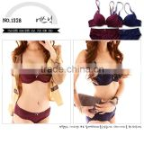 2014 Unique Fashion Design beautiful lace sexy lady bra sexy girls panty bra