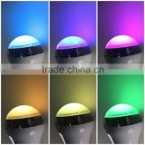 New product Colorful led light/ portable Mini smart led bulb bluetooth speaker with remote control