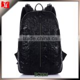 Cool crocodile grain brand new designer backpack