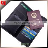 100% genuine leather travel document wallet