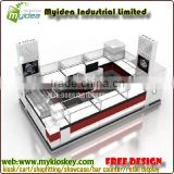 High standard shopping mall kiosk with kiosk prices and kiosk design for sale