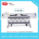 Big discount Yaselan factory manufacture 1.8m EP DX5 Eco Solvent Printer                                                                         Quality Choice