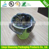 Popular HDPE/LDPE garbage bag on roll of high quality with factory price