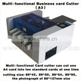 A3 size easy operate Automatic Business paper card cutter Slitter Machine