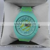 Hotselling and Fashion plastic strap roles watches men gold luxury in stock