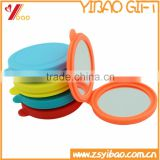 Round Silicone Mirror/Round Pocket Mirror/Fashion Souvenir Silicone Compact Mirror                                                                         Quality Choice