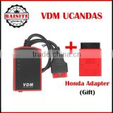 High quality original vdm ucandas universal car diagnostic tool wifi VDM UCANDAS V3.84 update online with factory price