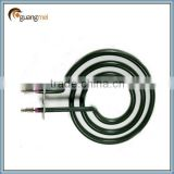 Coil heating element for induction stove