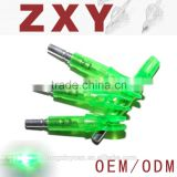 hot sale hunting arrow nocks lighted led arrow nock tail with led light OD6.2mm