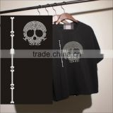 Hotfix rhinestone nailhead skull heat transfer iron on apparel                                                                                                         Supplier's Choice