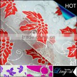 Nylon Organdy Bronzing Fabric Two-tone for Decoration DSN216