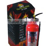 FMS-34 car powder fire extinguisher wholesale 1kg